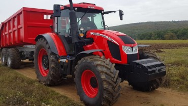 ZETOR FORTERRA 140 HD FINALISTA TRACTOR OF THE YEAR 2017