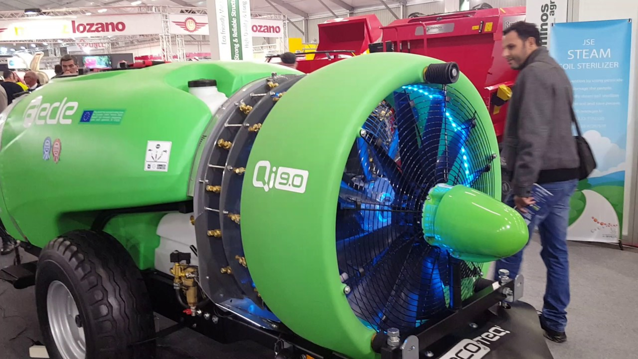 El proyecto H3O de Pulverizadores Fede