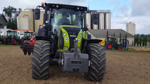 Claas Arion 660. Finalista Tractor of The Year 2018