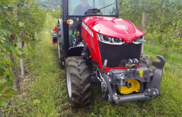 Massey Ferguson 3700 S. Finalista «Best Specialized Tractor of The Year 2018»