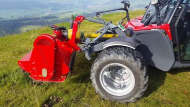 AEBI TT281. Finalista Best Specialized Tractor of The Year 2018