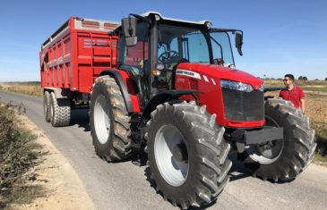 Massey Ferguson 6713 Finalista Tractor of The Year 2019