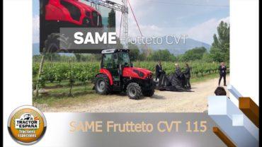 SAME FRUTTETO 115 S CVT, Ganador del Premio Tractor de España 2020 en Tractores especiales