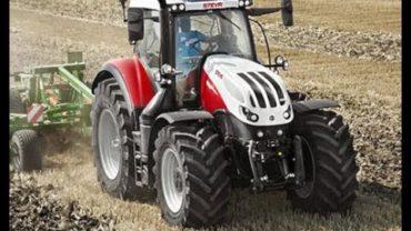 Steyr 6300 Ganador del premio Tractor de España 2020 en la categoría de Más de 201CV